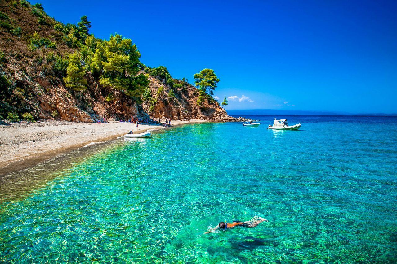 Plaje în Halkidiki