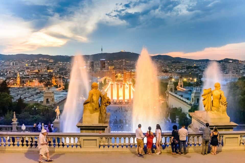 Fântâna Magică din Barcelona