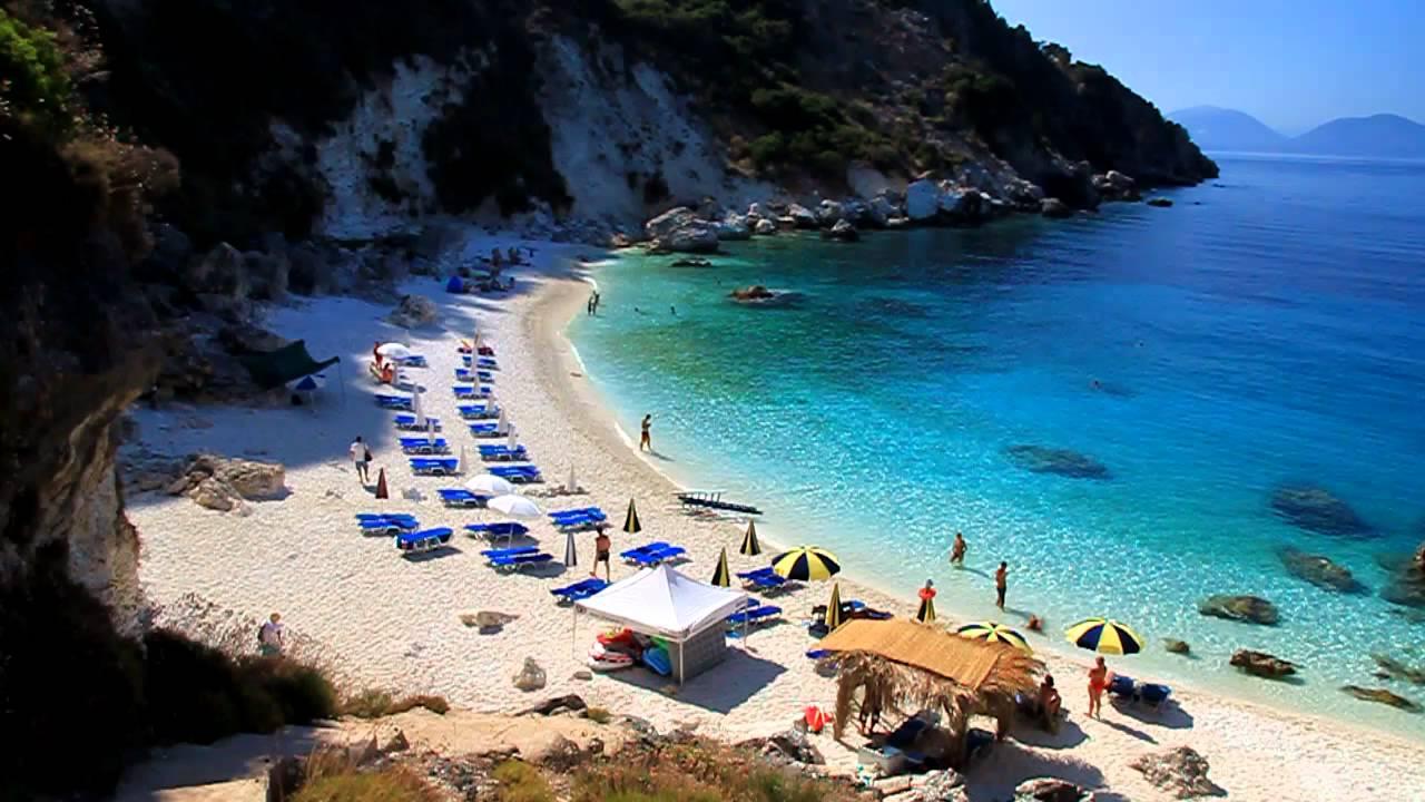Plaja Agiofili din Lefkada