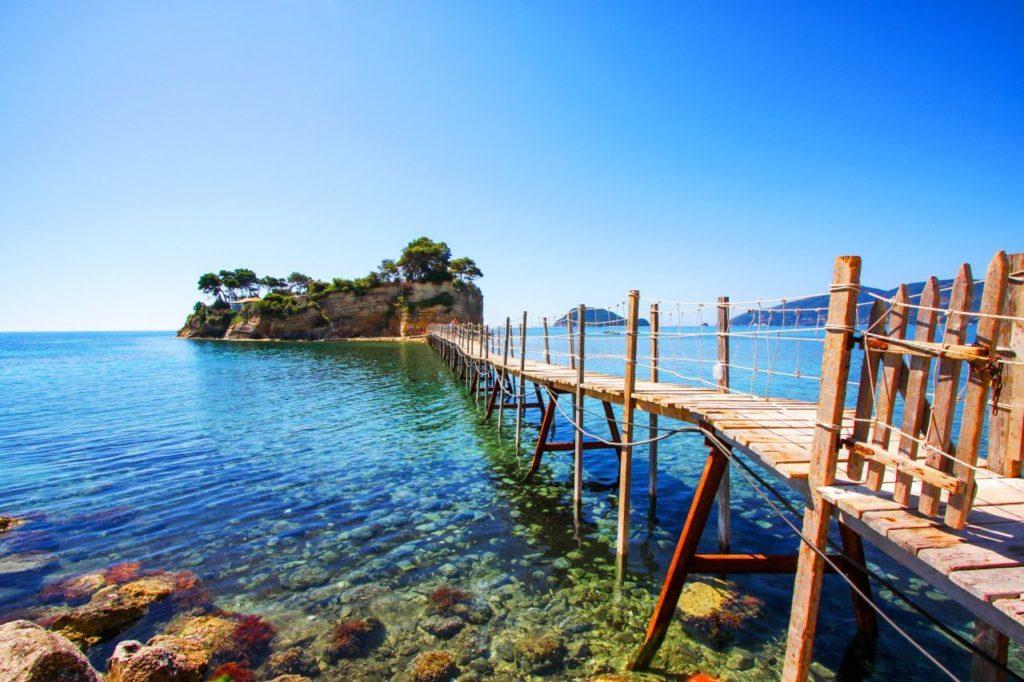 Plaja Agios Sostis din Insula Zakynthos