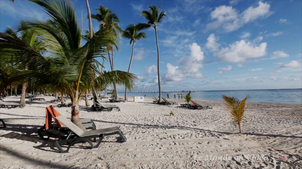 Plaja Bavaro din Republica Dominicană