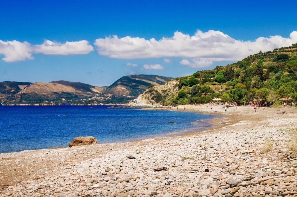 Plaja Dafni din Insula Zakynthos