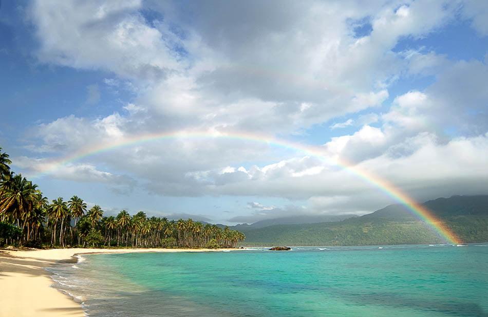 Plaja Rincon din Republica Dominicană