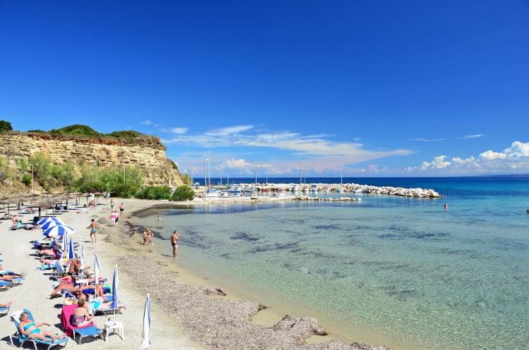 Plaja Tsilivi din Zakynthos
