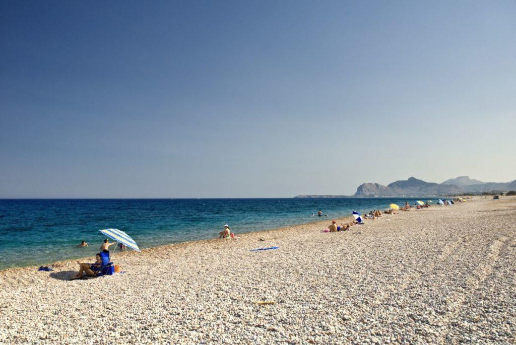 Plaja Afandou din Rodos