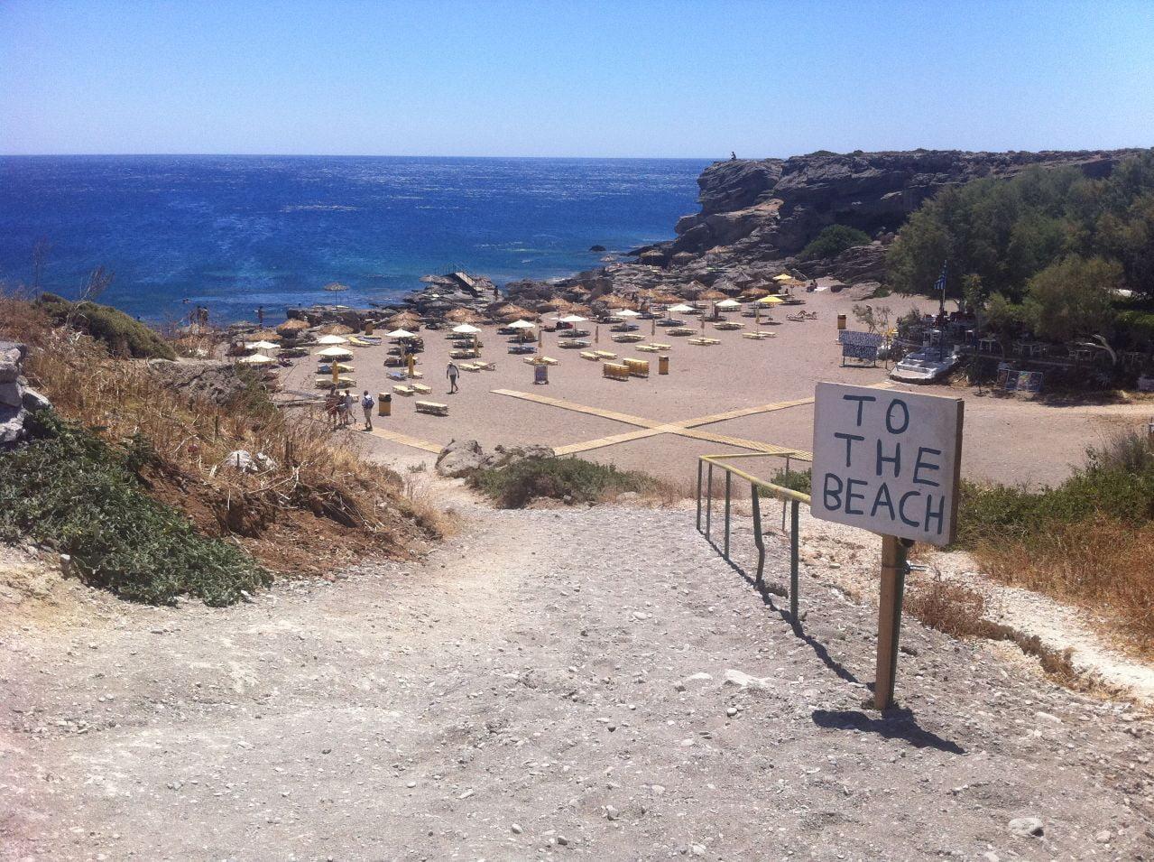Plaja Kalitheadin Insula Rodos