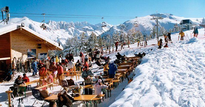 Stațiunea de schi Bansko din Bulgaria