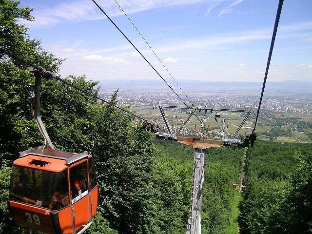 Pe muntele Vitoșa vei găsi cea mai mare stațiune de schi din Bulgaria