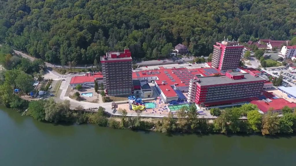 Stațiunea balneară Călimănești - Căciulata din România