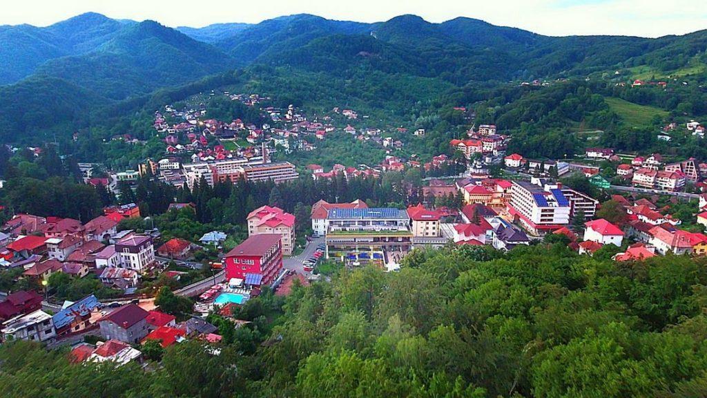Stațiunea balneară Băile Olănești din România