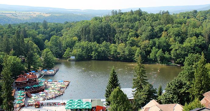 Stațiunea balneară Sovata din România