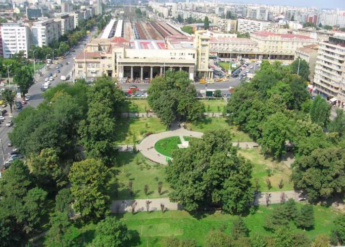 Parcul Gara de Nord - Bucuresti cele mai frumoase parcuri capitala