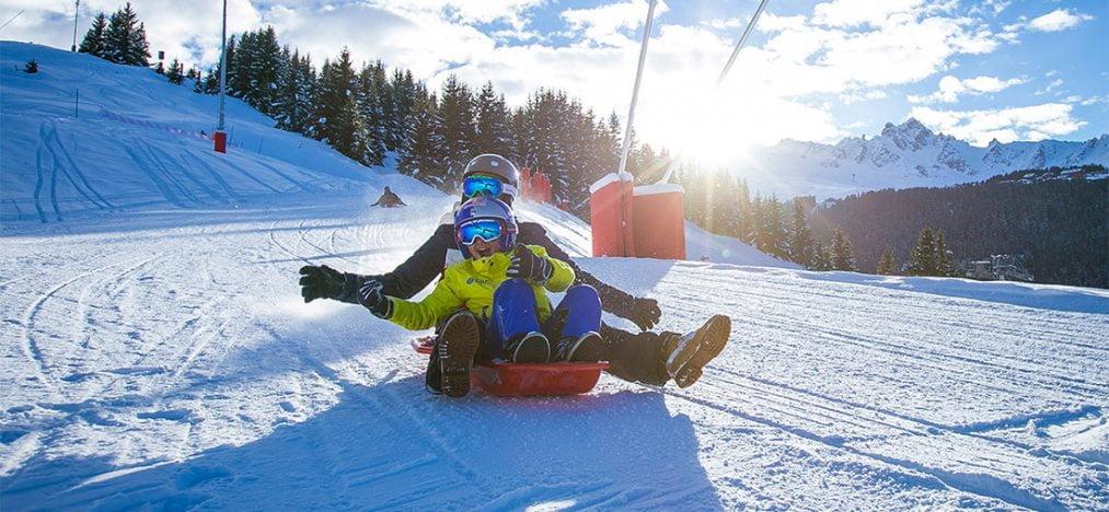 Stațiunea franceză de schi Courchevel este renumită și pentru atmosfera de lux