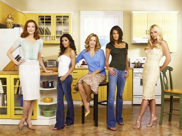 Desperate Housewives (2004 – 2012) serial popular