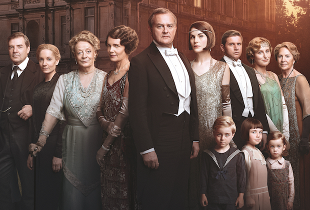 Downton Abbey serial istoric