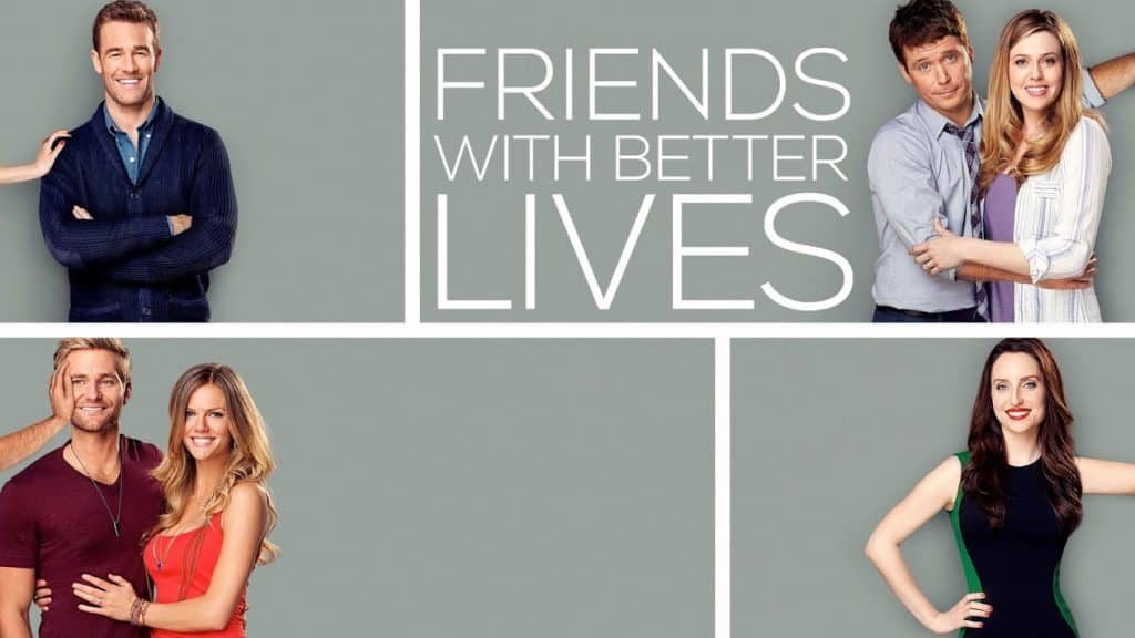 Friends with better lives sitcom 2014