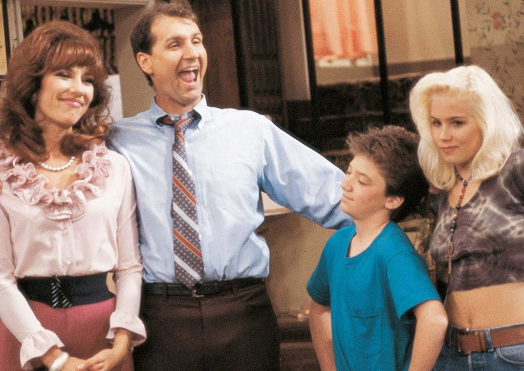 Married wih children Familia Bundy serial popular