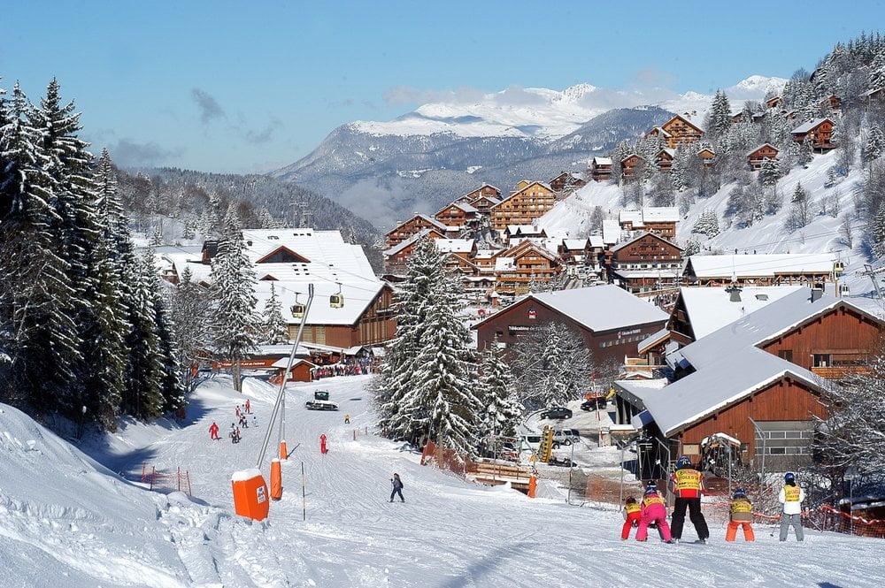 Meribel, Franța - Locul potrivit pentru a face schi copiii