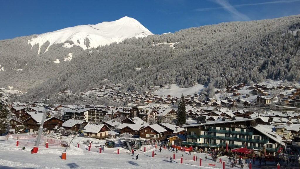 Morzine e încă o stațiune de schi apreciată a Franței