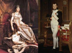 Napoleon bonaparte și Josefine cuplu celebru din istorie