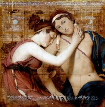 Paris şi Elena - Cupluri celebre din istorie si literatura