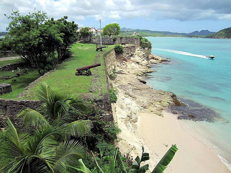 Plaja exotică Fort James Beach - Fort Bay, Antigua