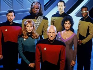 Star Trek: The Next Generation serial popular