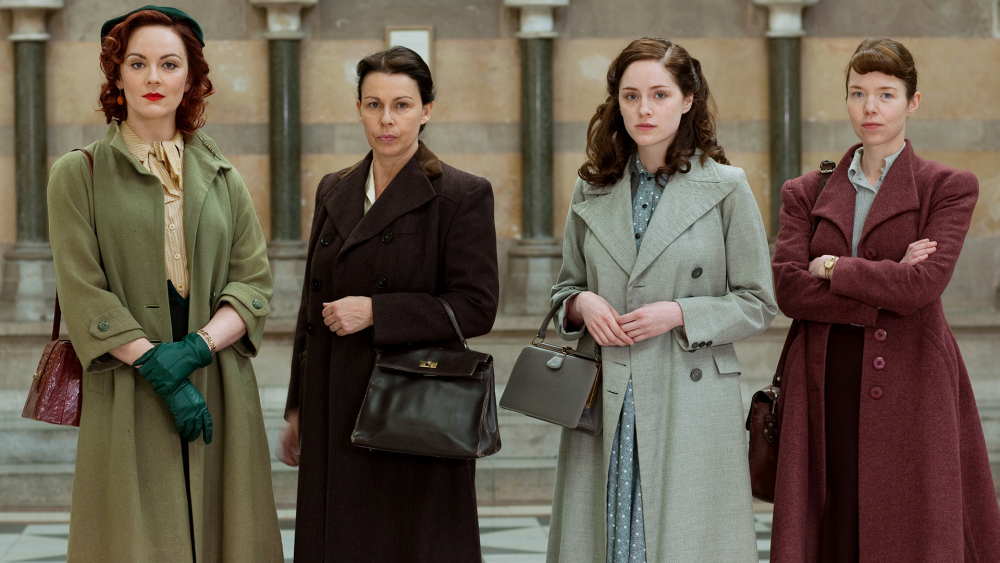 The Bletchley Circle serial istoric